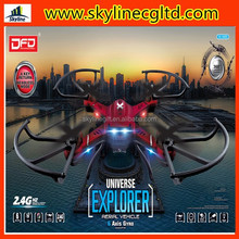2015 new 2.4 G 6-axis waterproof RC drone with 2.4g rc quadcopter 6-axis gyro drone uav rtf ufo with 2mp hd camera