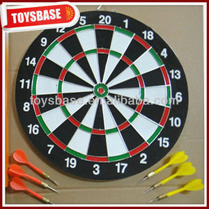Wood dart boards