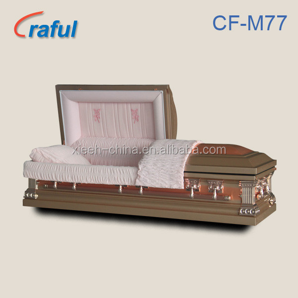 Casket Funeral Furniture Purity Copper (CF-M77)