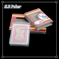 100% pvc poker, pvc cards, plastic playing cards