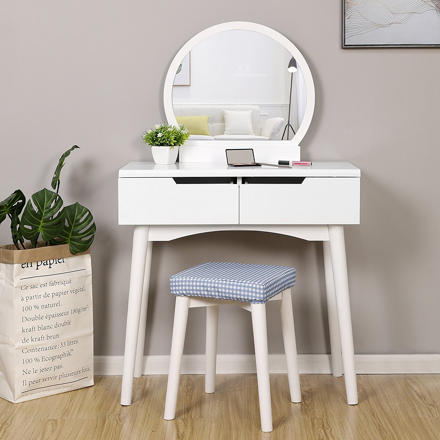 Hot Sale Bedroom Furniture Wooden Dresser Vanity Mirror Makeup Dressing Table Buy Makeup Table Dressing Table Dresser Product On Alibaba Com