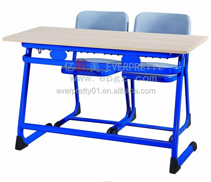 Cheap School Furniture Antique Student Desk and Chair 2 student Table - Cheap School Furniture Antique Student Desk And Chair 2 Student