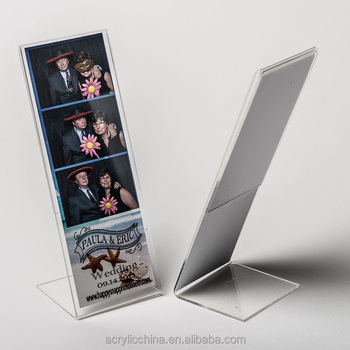 Aangepaste Acryl Tafelblad 2 X 6 Foto Booth Strip Fotolijstjes Buy