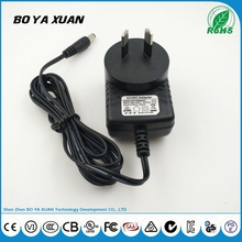 5v power adapter 5V 0.5A Power Supply For LED light with SAA DOE efficiency level VI adapter
