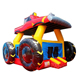 Red inflatable jumping castle, Monster Bouncy castle with slide,Truck inflatable jumping castle combo