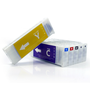 Full ink cartridge for Epson F2000 with textile ink and chip
