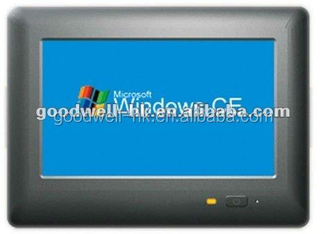 Win CE os, Rs485 Port 7 polegada tout en un écran tactile PC