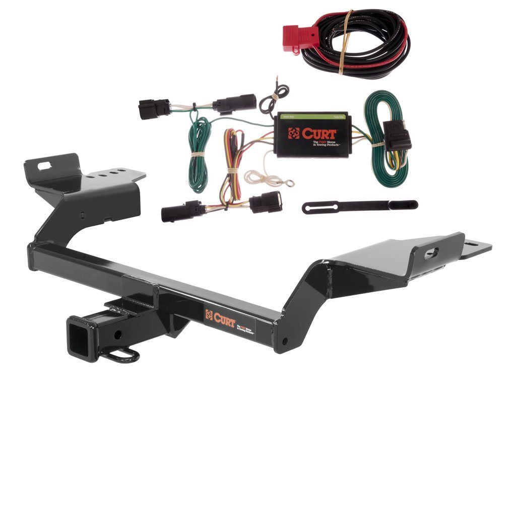 get quotations � curt class 3 trailer hitch bundle with wiring for  2013-2016 ford escape - 13186