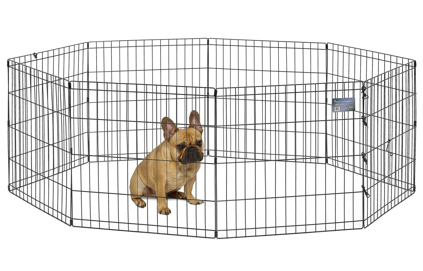 ... Puppy Playpen with Floor Grid. 127.26. MidWest Homes for Pets Foldable Metal Exercise Pen / Pet Playpen, 8 Panels Each