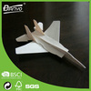 wholesale simple balsa wood model airplane for kids
