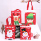 Merry christmas Bag Kids Gift Candy Bags Pouch Mini Handbag Christmas Decoration for Home Party New Year Decoration