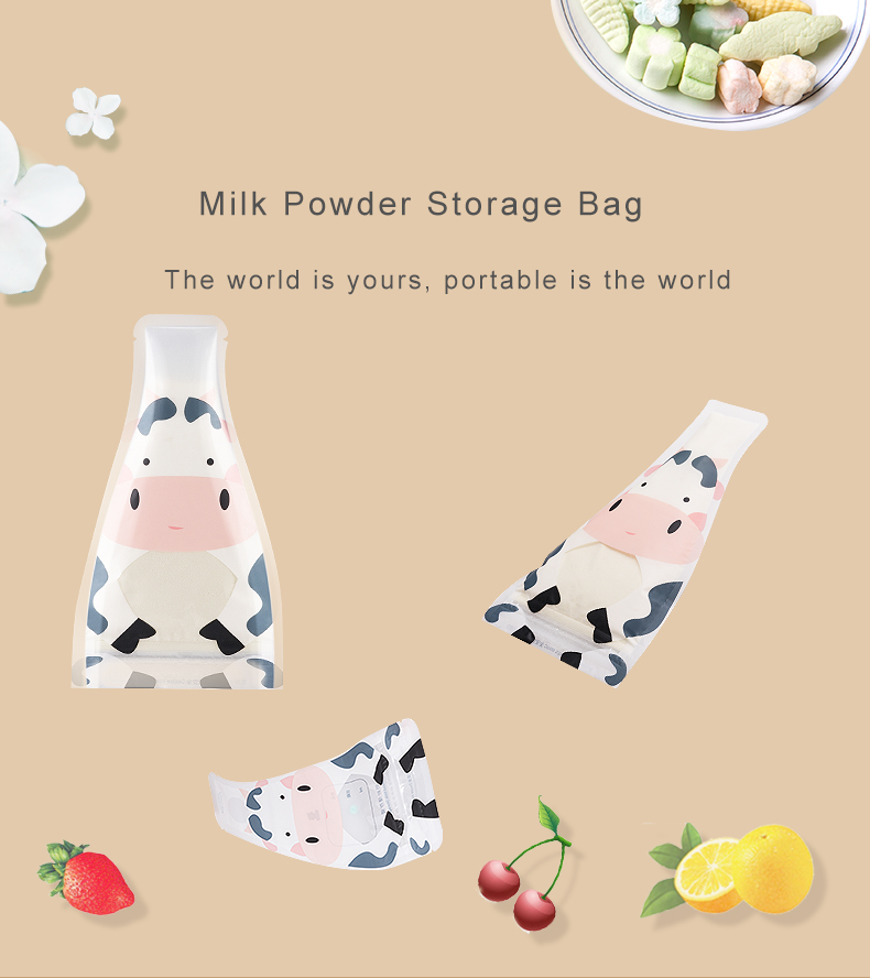 New Style Portable Milk Baby Disposable Formula Bag