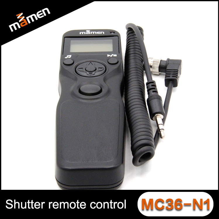 Hot Sale Professional Multi- Function Universal Camera Timer Remote Controller Shutter Release For Nikon Remote