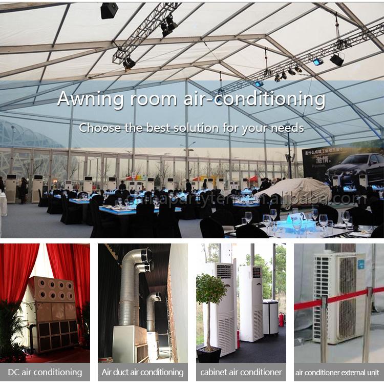 גדול קיבולת 300 אנשים Rounde חתונה מסיבת למתוח אוהל לאירועים חיצוניים
