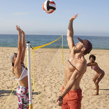 Groothandel Custom Vouwen <span class=keywords><strong>Strand</strong></span> <span class=keywords><strong>Volleybal</strong></span> Netto Set Outdoor