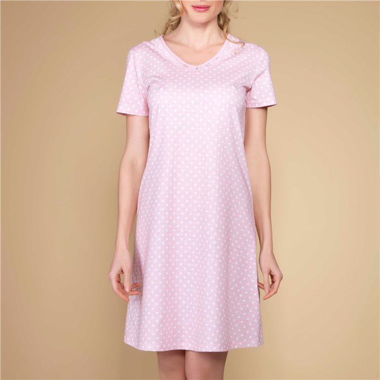 Best Option Above Knee Nightwear For Women Sexy Night Dresses