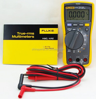 Fluke Digital Multimeter Original Fluke 117C with Non-Contact Voltage Multimeter Auto Range Diode Tester