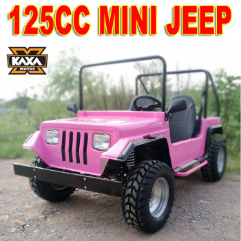 125cc Off Road Gas Mini Jeep