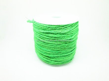 Fai da te 100yards/lot luce verde <span class=keywords><strong>spago</strong></span> <span class=keywords><strong>iuta</strong></span> 2mm decorativi fatti a mano accessorio corda di canapa