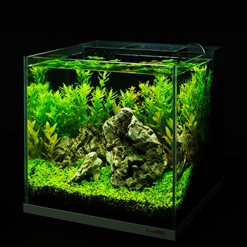 FireAQUA ultraclear salontafel aquarium met interne filter
