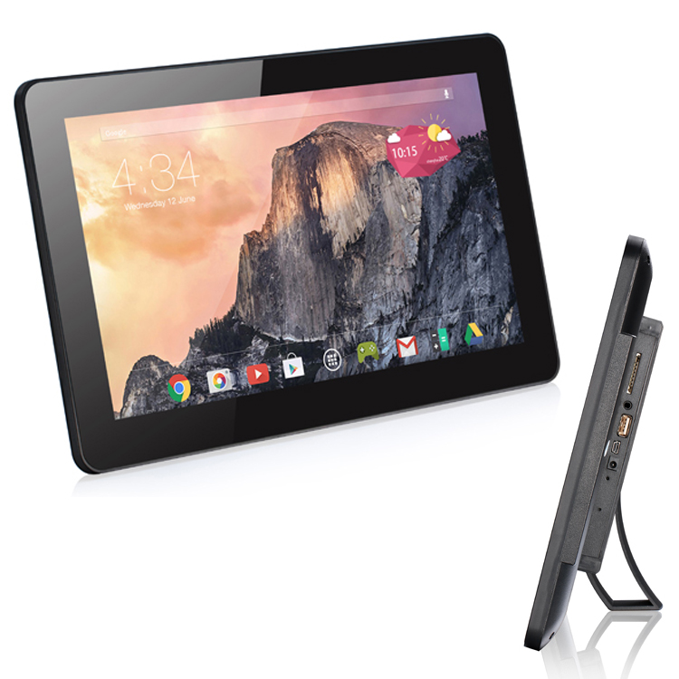 12.1 inch android tablet pc rj45 Touch screen android tablet with vesa mounting