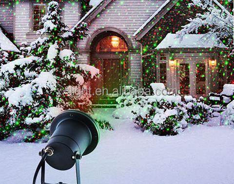 Outdoor Laser Light Christmas Decoration Outdoor Laser