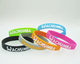 Manufacturer Personalized stylish and inspiring rubber wristbands