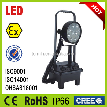 CE RoHS approved 30w Hand-held lamp Portable Explosion proof LED Work Light