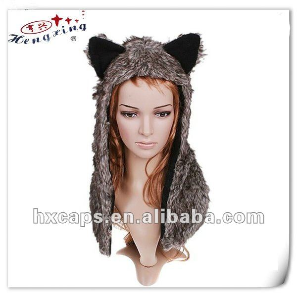 2012 new fashion custom animal hat earmuff scarf gloves hat