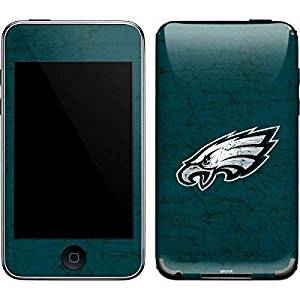 NFL Philadelphia Eagles iPod Touch (2nd & 3rd Gen) Skin - Philadelphia Eagles Distressed Vinyl Decal Skin For Your iPod Touch (2nd & 3rd Gen)