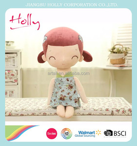 China life size human plush doll for wholesale