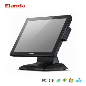 Touchscreen Desktop POS System/POS Machine/Cash Register machine with POS Software