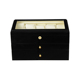 2019 Hot Top Grade MDF Wooden Decorated Watch Box 3 Layer
