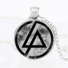 Diffuser necklace Rock band linkinpark Lincoln Park Time jade pendant necklace