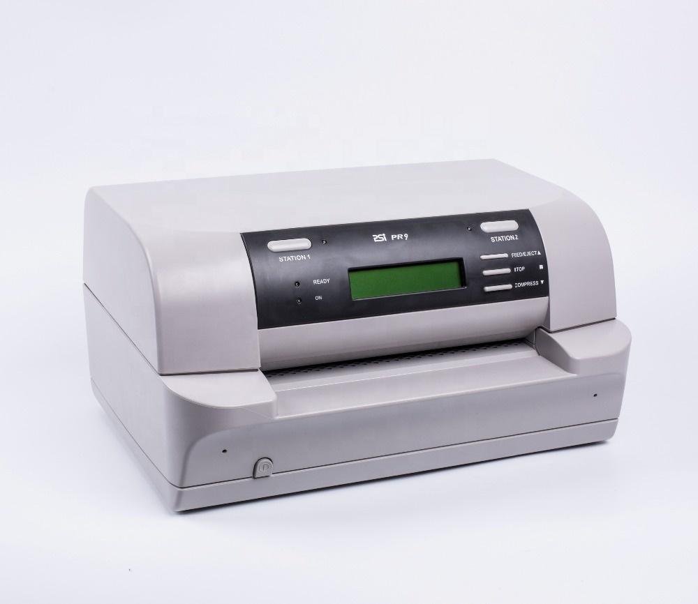 English version PSI PR9 dot matrix passbook printer with cheap price factory standard фото