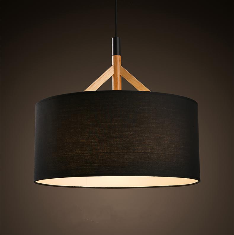 Round Drum Pendant Lamp