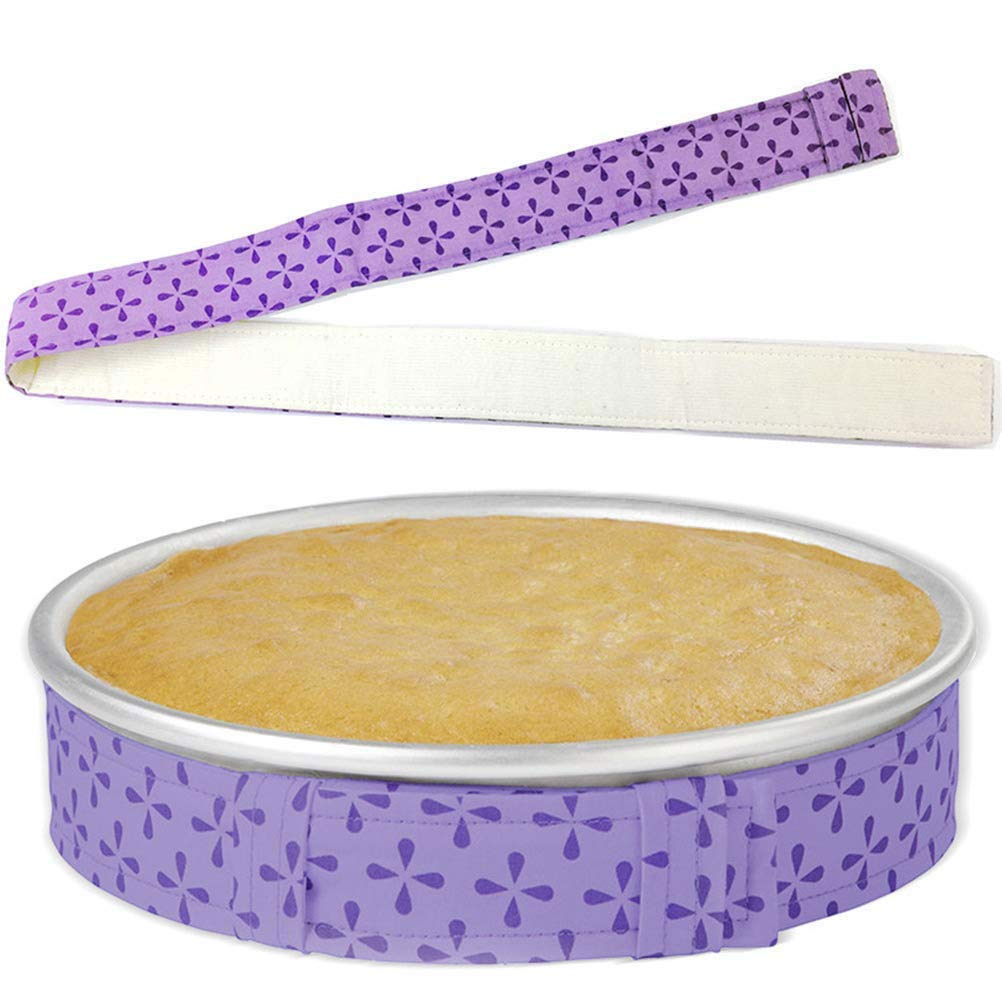 DayCount Pack of 5 Bake-Even Strips, Cake Pan Dampen Strips Belt, Bake Perfectly Level Cakes Moist Cakes Baking Tools (34-3/5'' x 1-3/5'')
