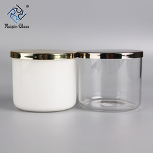 CJ685 Factory Price Promotion Gift Geo 컷 (gorilla Glass) Candle Jar