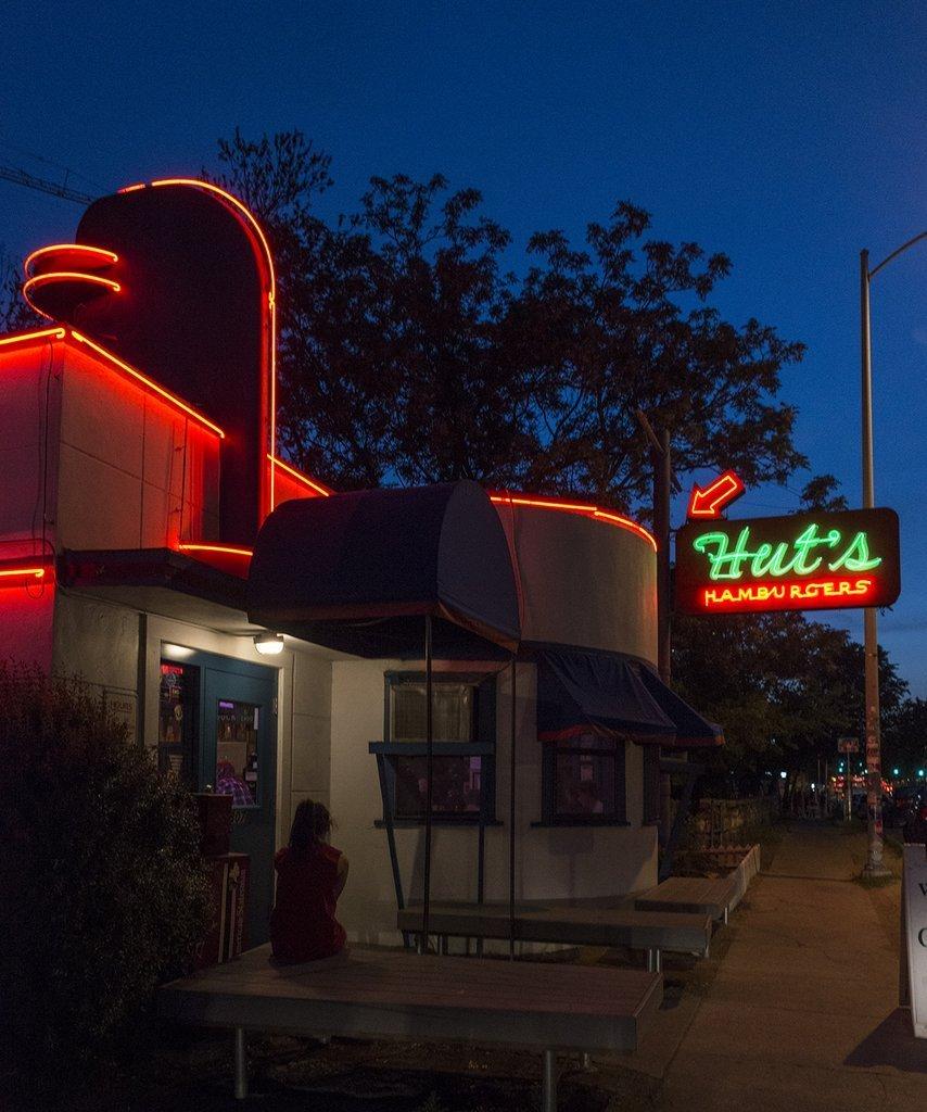 Austin Texas Mikayla Neon: Provocative Neon Sign At
