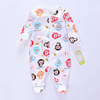 5de0f065f New 2017 Autumn Winter Baby Romper Newborn Clothes Long Sleeved ...