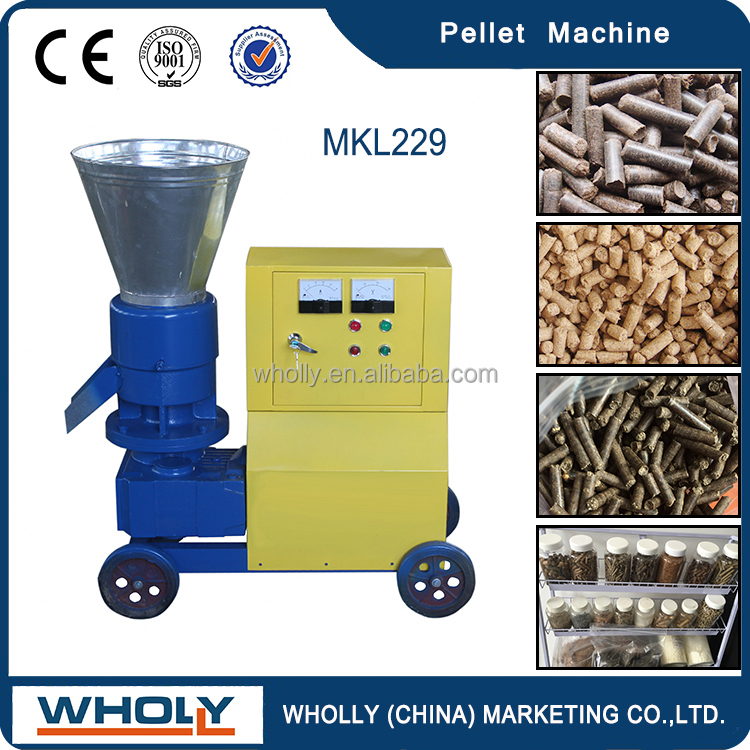 Easily Dismounted And Assembled Wood Pellets Machine For Sale