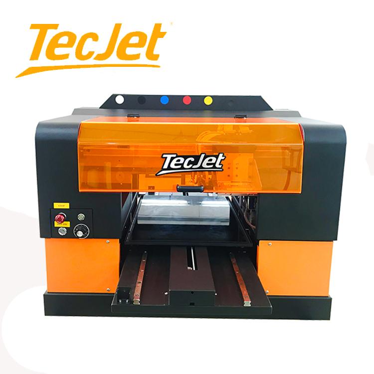 TECJET 3350 330*500mm industrie design xp600 dx7 inkjet druckmaschine handy zurück fall abdeckungen uv-flachbettdrucker drucker