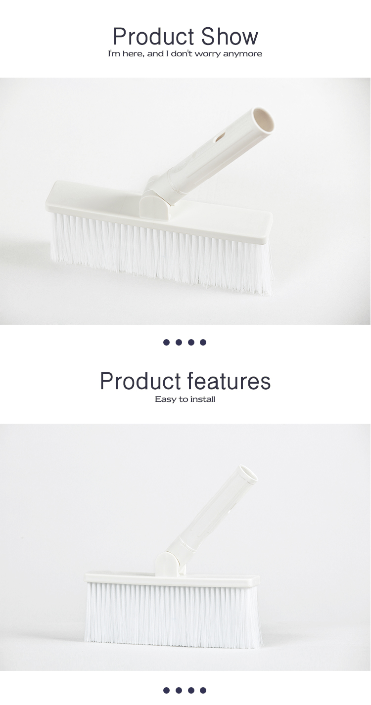 Eco-Friendly Creative Design Plastic Household Laundry Clothes Washing Brush