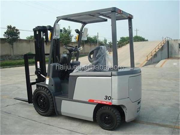 2000kg Four-Wheel Cheap DC/AC Electric Forklift FB20