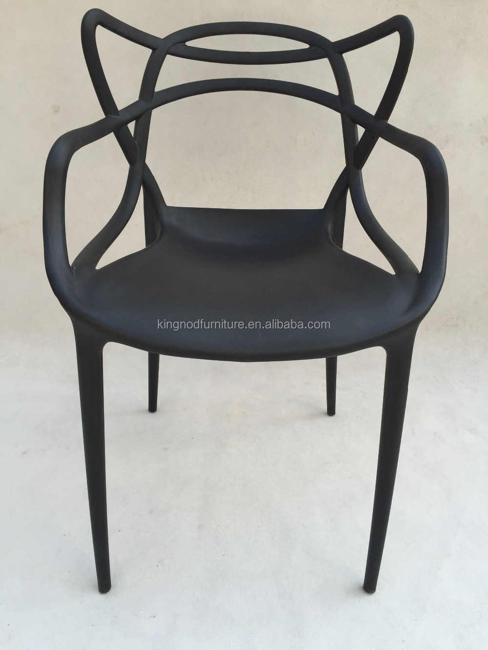 Modern Philippines Stacking Restaurant Plastic Dining Table Chair