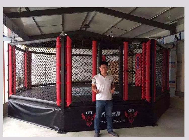 how to build a cheap mma cage