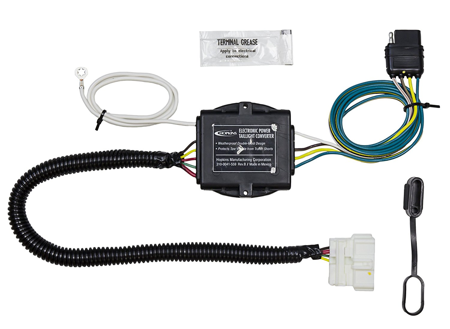 Get Quotations · Hopkins 43134 Honda Pilot Plug-In Simple Trailer Wiring Kit