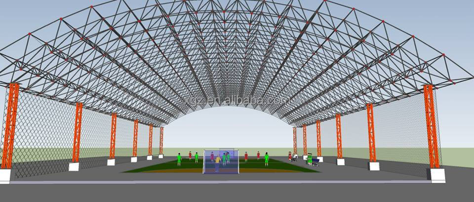 Steel Truss Roof Structure Gym Buy Steel Truss Roof Gym