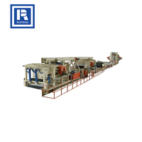 High quality hydraulic automatic particle board production line