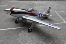 "Mustang 96 ""100cc F0071 <span class=keywords><strong>rc</strong></span> fiberglas modell <span class=keywords><strong>flugzeug</strong></span> mit Air retract fahrwerk"